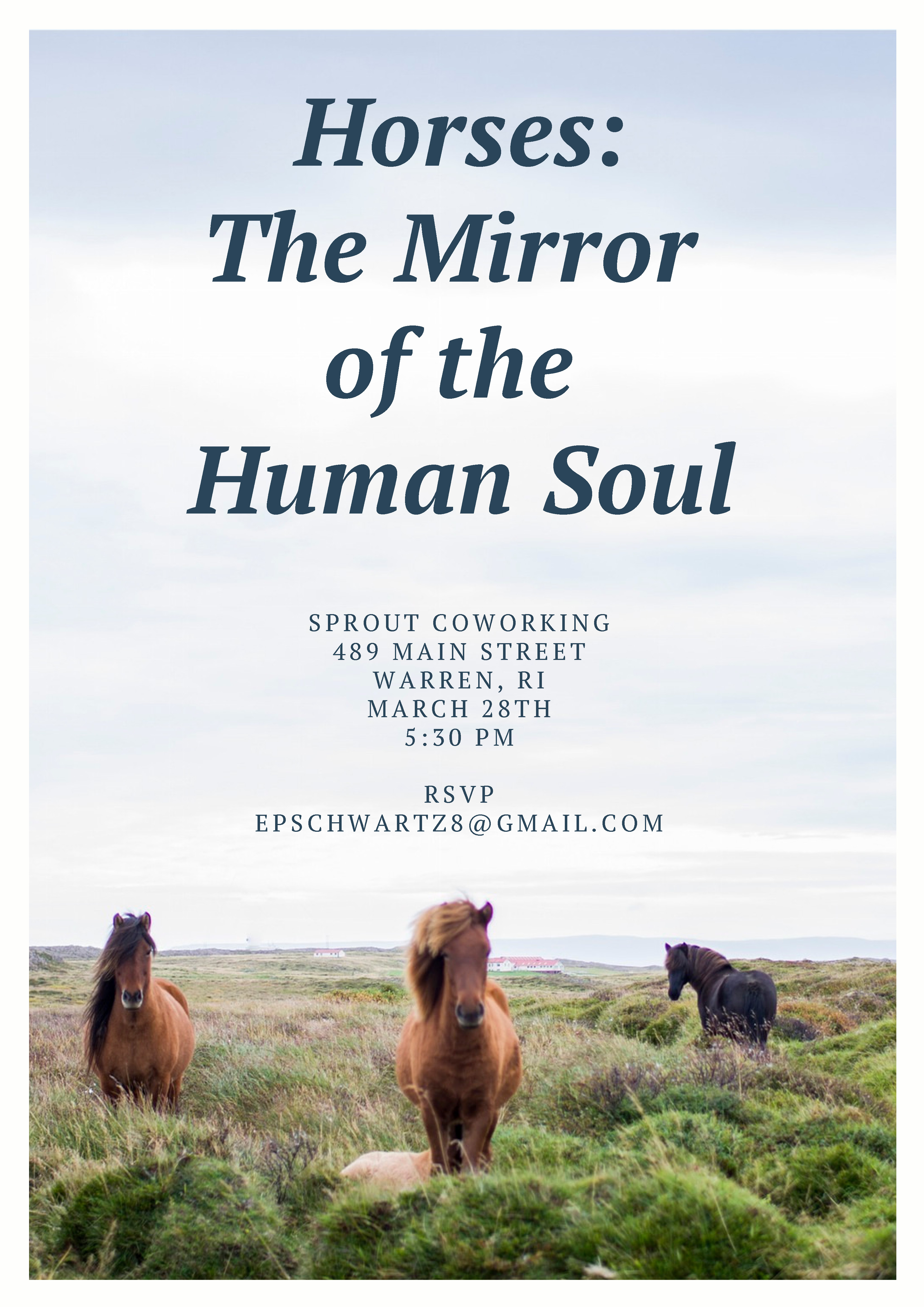 Horses: The Mirror of the Human Soul @ Sprout CoWorking Warren