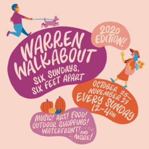 Warren Walkabout Pop-up Shops @ Sprout CoWorking Warren, 489 Main St, Warren, RI 02885